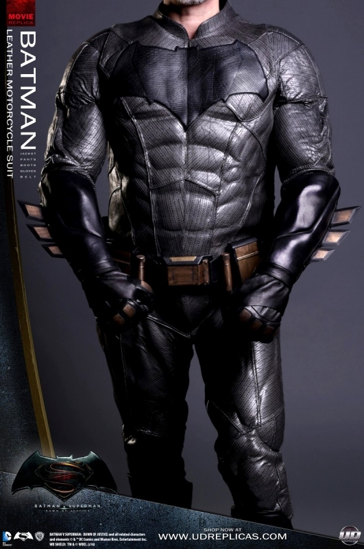 real dawn of justice batman motorcycle suit