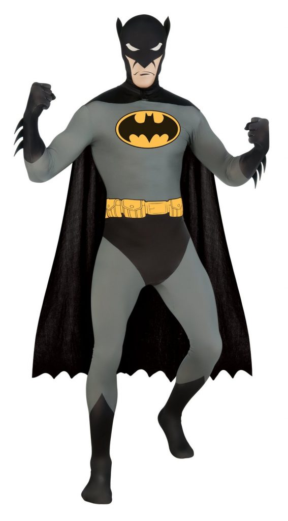 batman zentai costume suit
