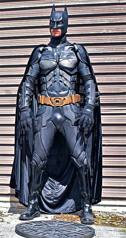 handmade dark knight costume for sale