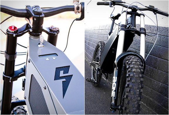 Stealth Electric Bikes Battery