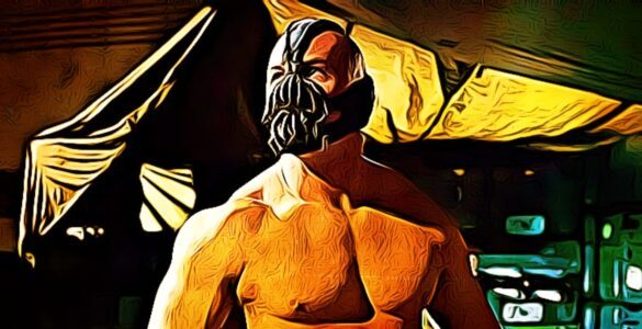 why does bane wear the mask